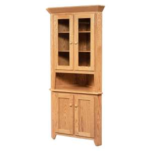 Corner Cabinets | Dining Room | Farmerstown Furniture ...